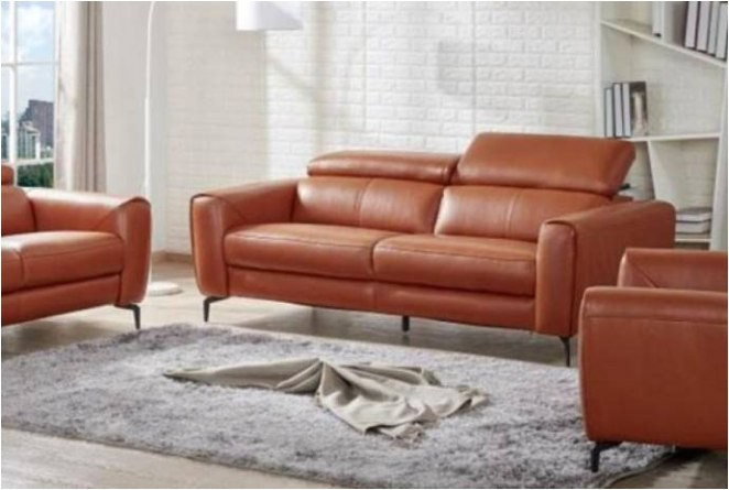 types of leather couches