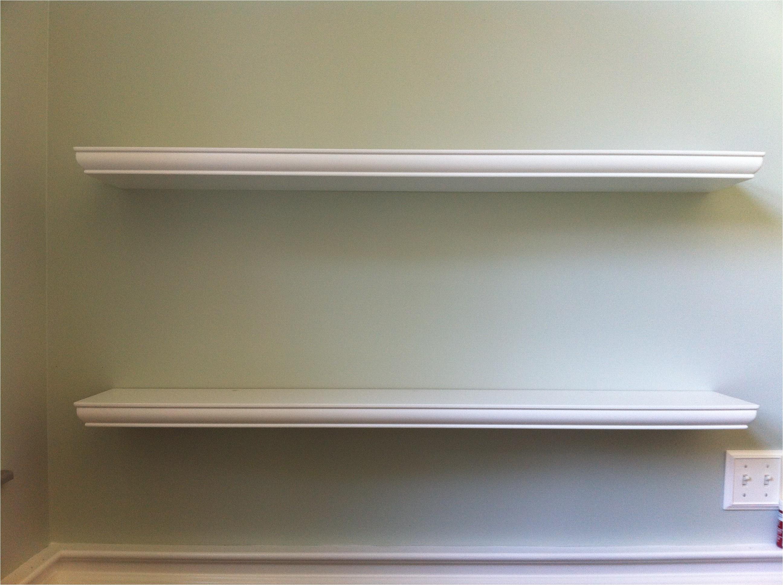 White Floating Shelves Lowes Floating Corner Shelves Lowes with Charming White Floating