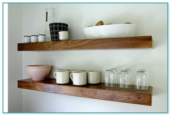 white floating shelves lowes