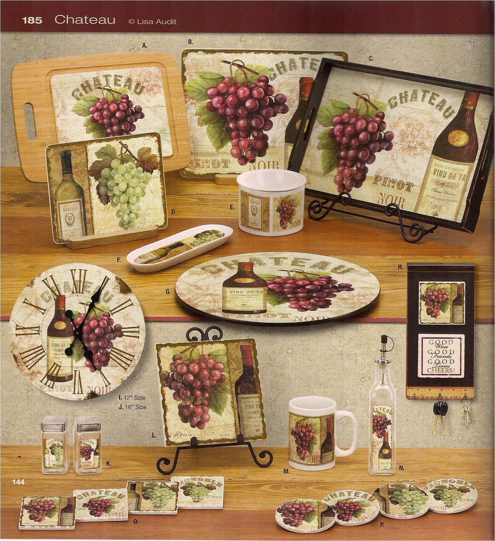Wine and Grape Kitchen Decor Ideas Kitchen Wine Decor Kitchen Decor Design Ideas