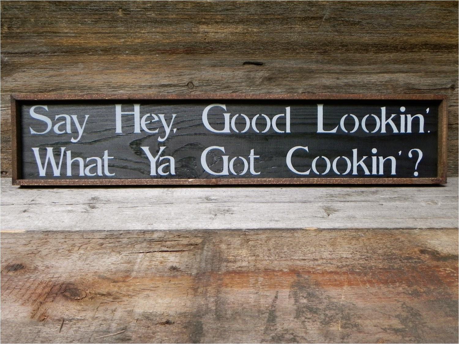 kitchen wall decor handmade wood sign