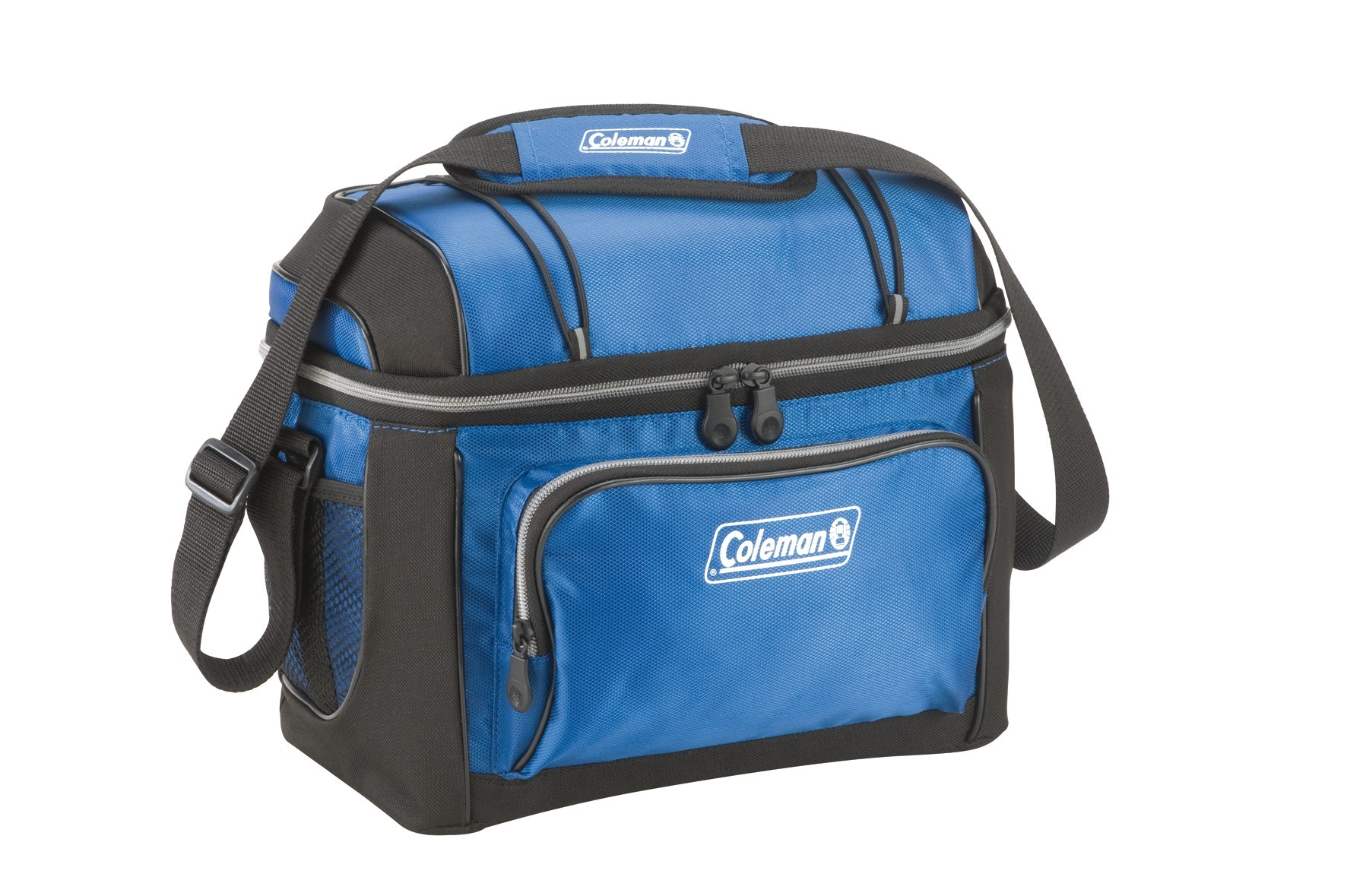 coleman 12 cans soft cooler with hard liner