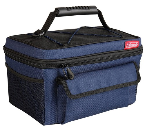 rugged soft cooler 14 can blue black 77741