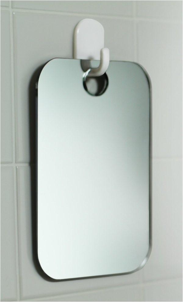 fogless shower shaving mirror