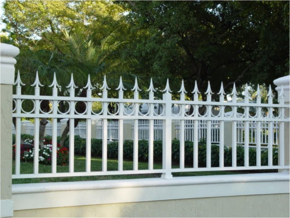 retaining wall fences
