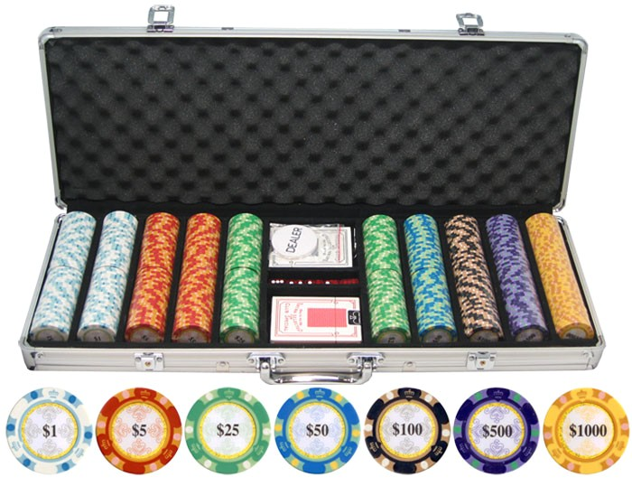 135g 500pc monte carlo clay poker chips p 374