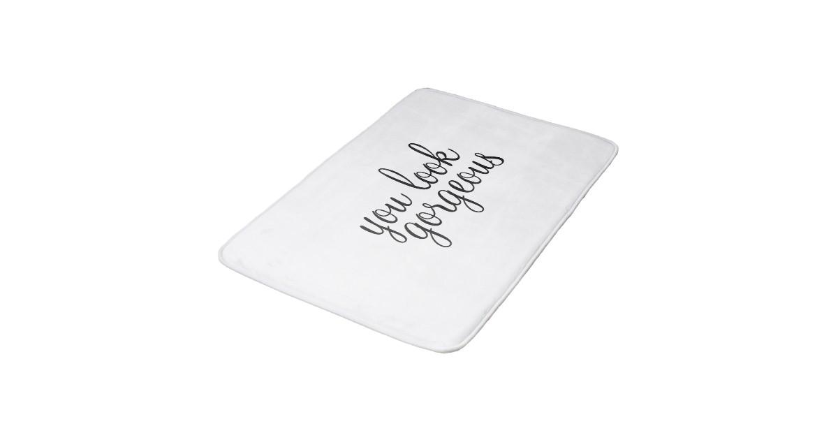you look gorgeous large bath mat bath mats 256565864672744931