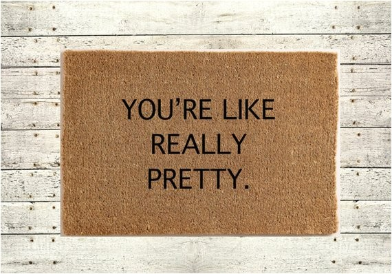 youre like really pretty rug