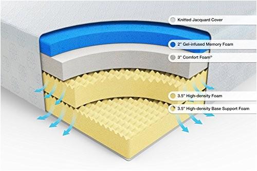 zinus 12 inch gelinfused green tea memory foam mattress twin ap b01mt3vrhv