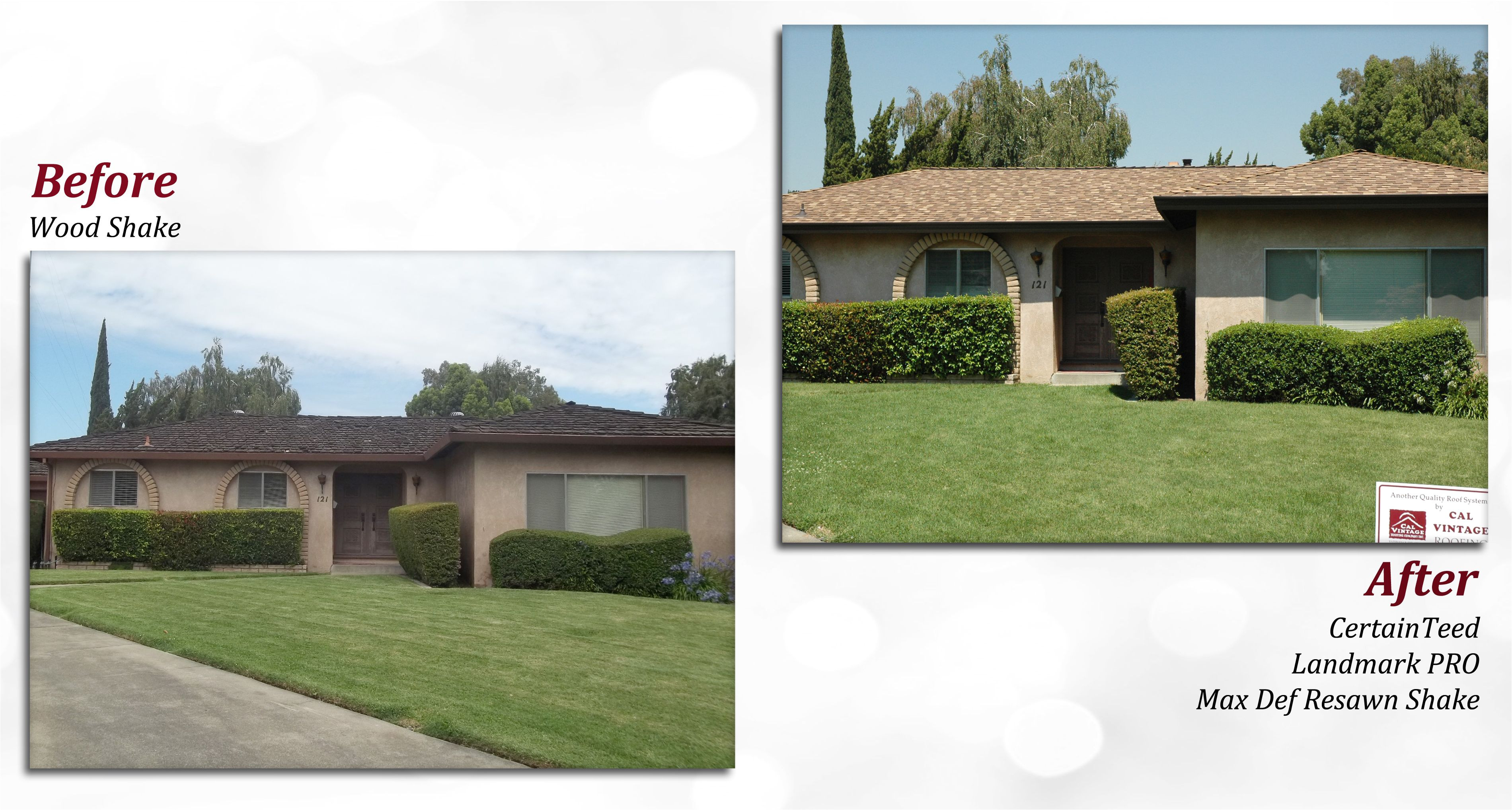 Certainteed Landmark Pro Max Def Colonial Slate before after Of A Certainteed Roof Profile Landmark Pro Color