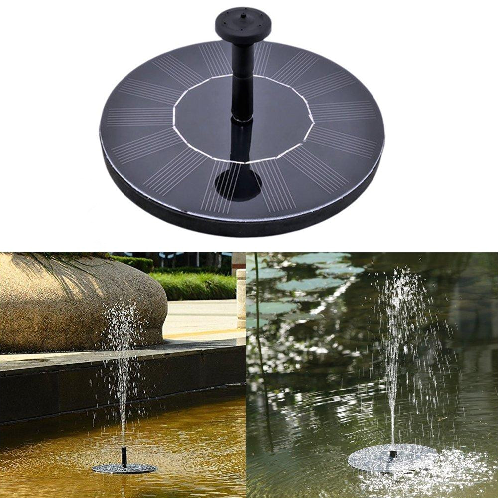Floating solar Powered Pond Aerators Groa Handel solar Wasser Brunnen Pumpe Schwimmende Wasser Pumpe 7v