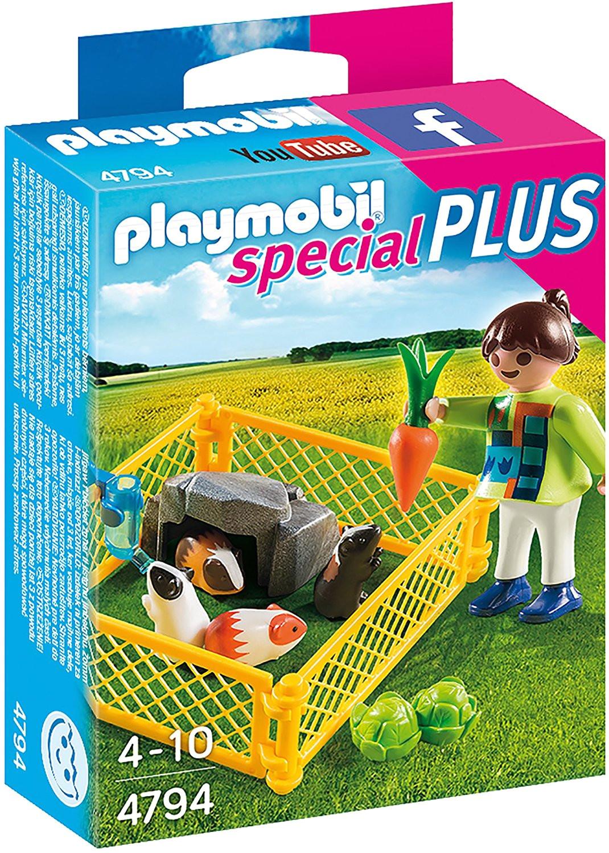 Guinea Pig toys Amazon Uk Playmobil 4794 Special Plus Girl and Guinea Pigs Amazon Co Uk toys