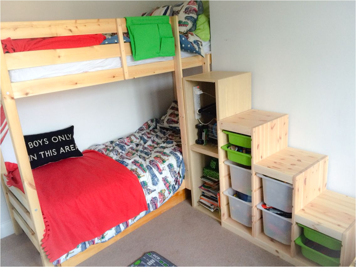 Ikea Stuva Bunk Bed Hack Ikea Bunk Bed Stairs Hack Ikea Trofast Steps with Ikea Besta and