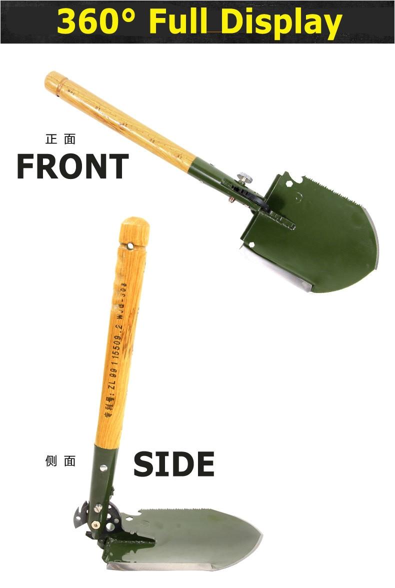 King Of Spades Shovel 2018 Chinese Military Shovel Folding Portable Shovel Wjq 308