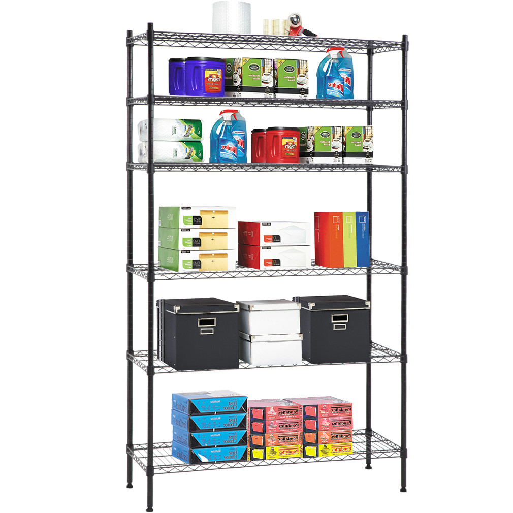Metal Storage Shelves Walmart 6 Shelf Wire Shelving Unit Heavy Duty Metal Storage Shelves Nsf Wire