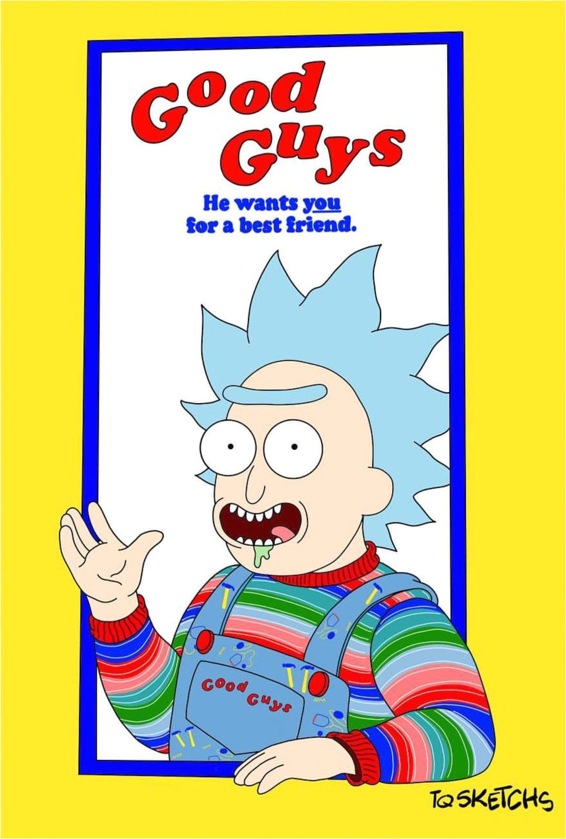 Pocket Mortys List Of Recipes Rick and Morty X Chucky Cartoons Pinterest Rick and Morty