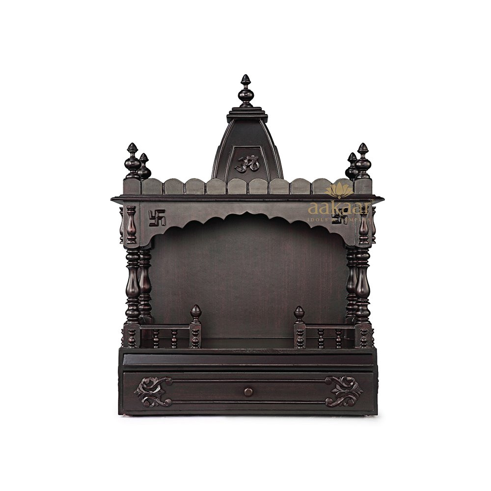 Pooja Mandir for Home In Usa Buy Aakaar Idols Temples Handcrafted Wooden Temple 21 Vo with