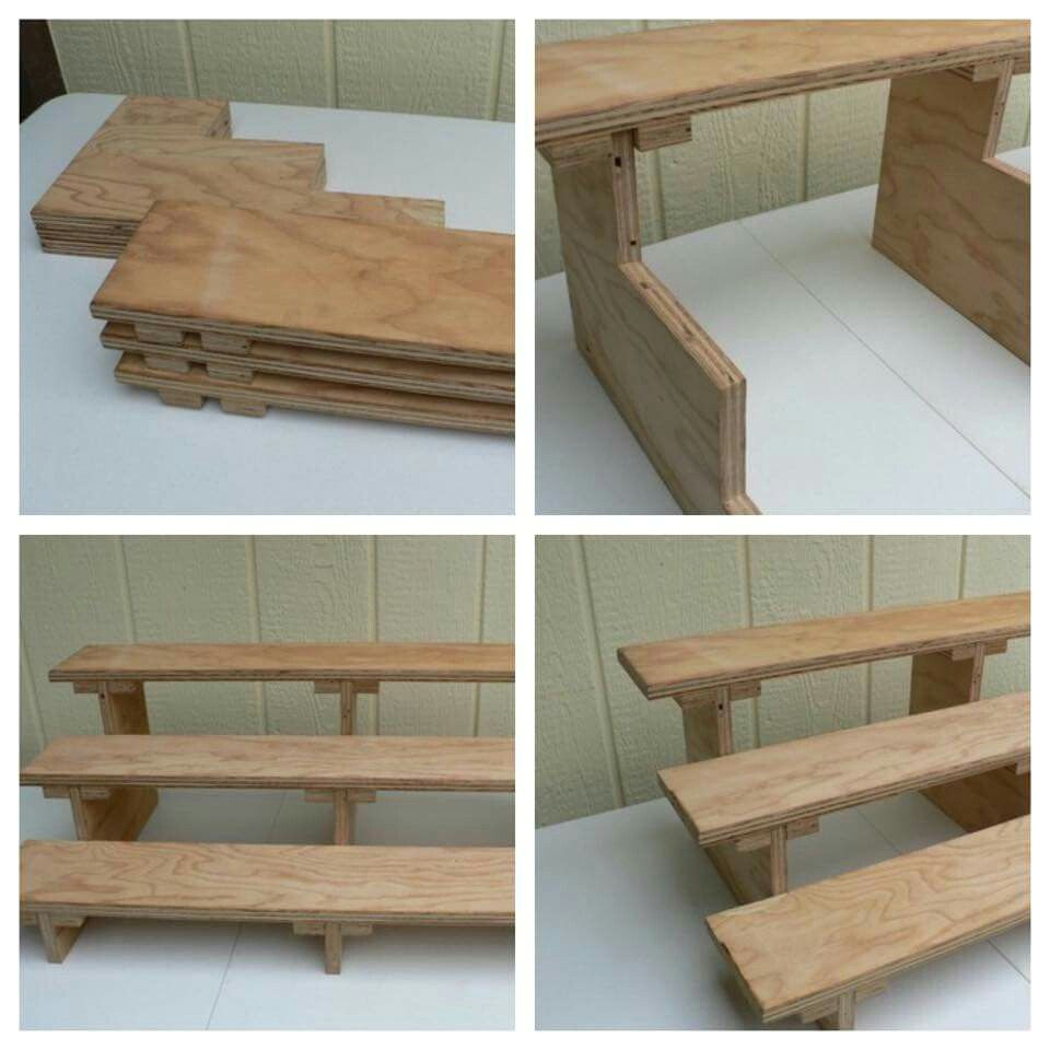 Portable Display Shelves for Craft Shows Uk Cool Collapsible Shelf for Display soap Pinterest Kombinovane