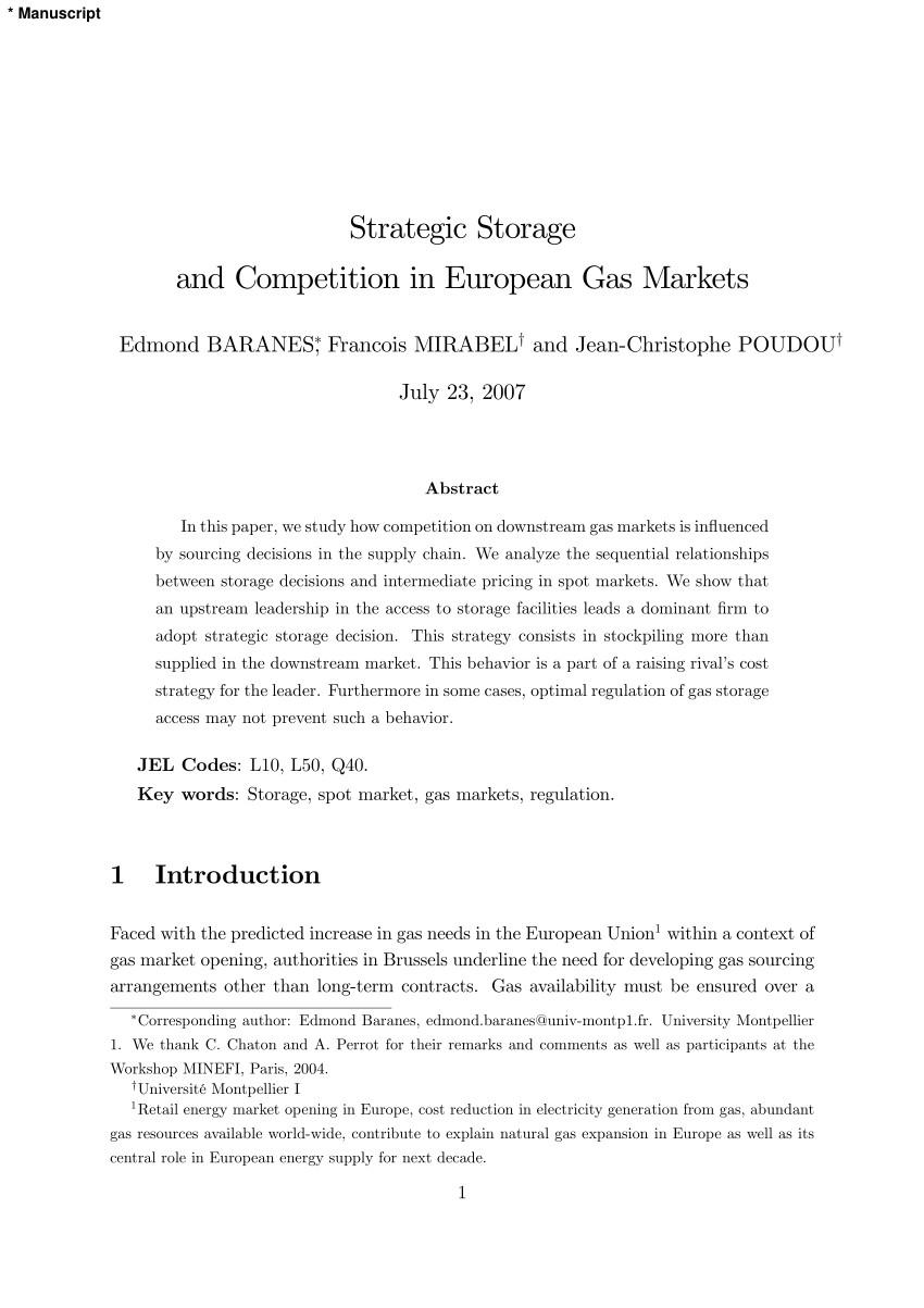 Public Storage 192nd Edmond Ok Pdf the Economics Of Seasonal Gas Storage