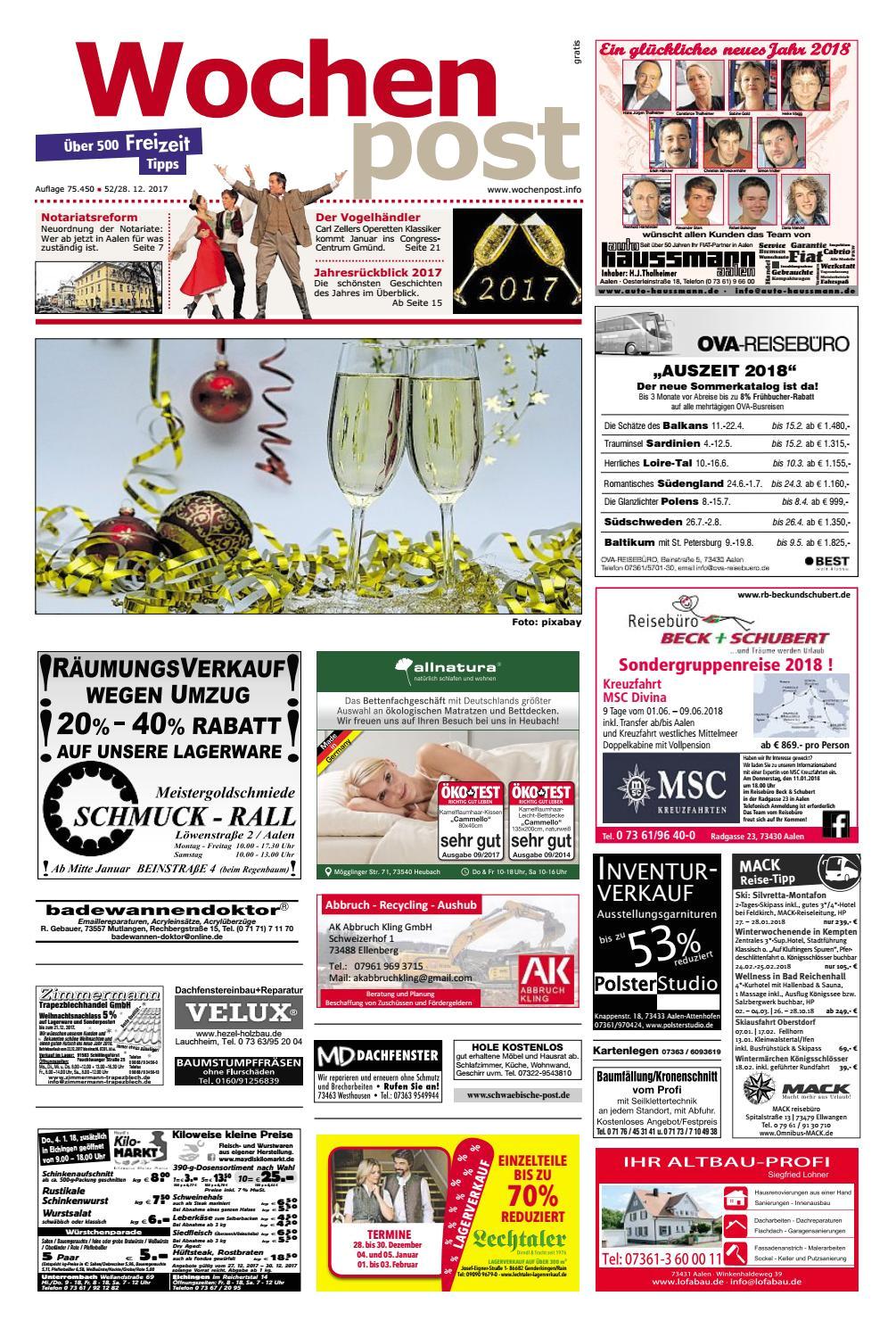 The Living Desert Coupons 2019 Die Wochenpost Kw 52 by Sdz Medien issuu