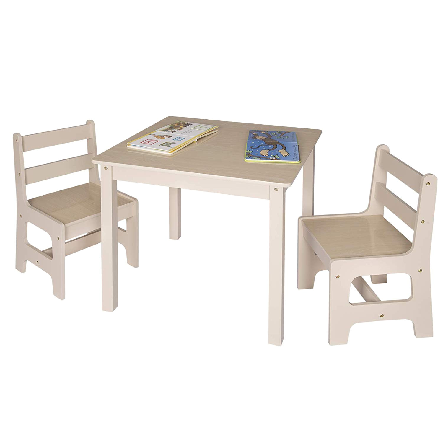 Toys R Us Canada toddler Table and Chairs Woltu Wooden Kids Children S Desk Table with 2 Chairs Stools Set
