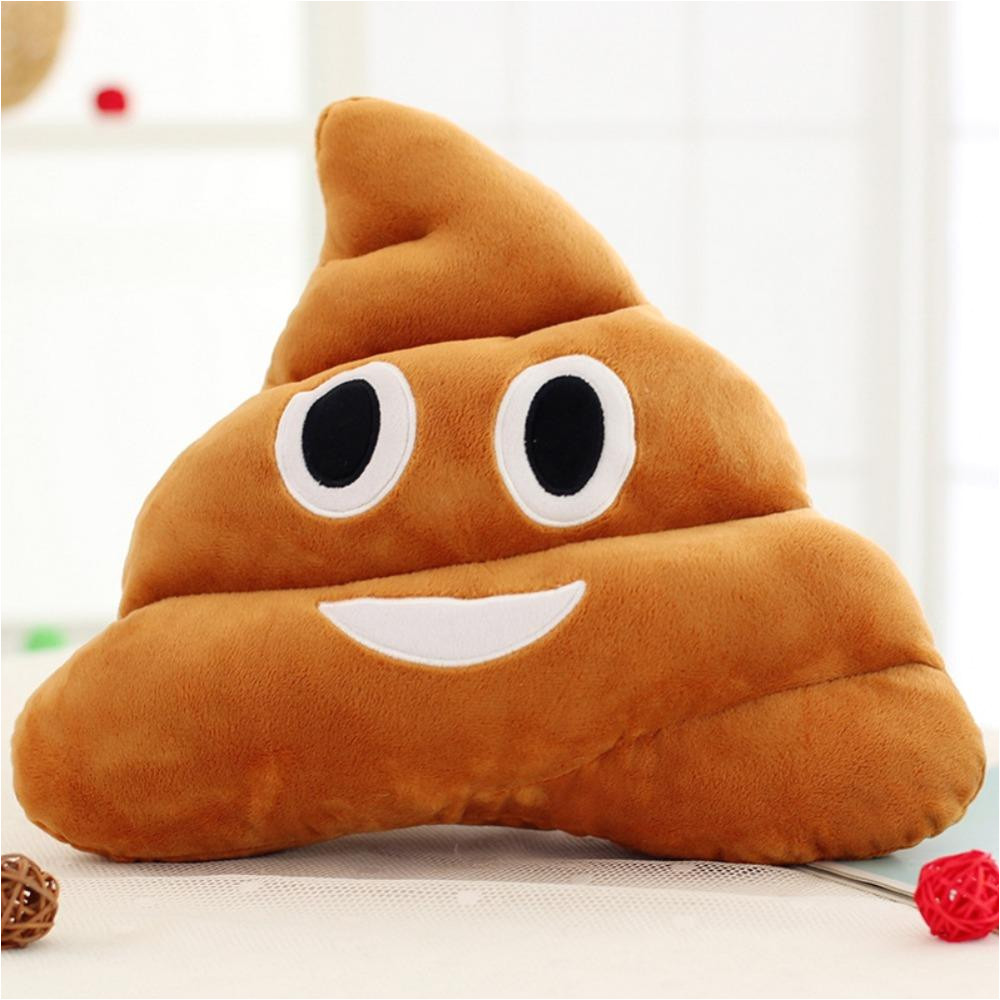 Types Of Pillow Stuffing wholesale 18cm 25cm Cute Stuffed Plush toy Doll Poop Pillows Poo