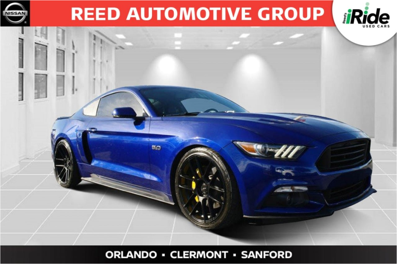 You Pick and Pull Auto Parts orlando 2016 ford Mustang Gt Premium 1fa6p8cf6g5321712 Reed Nissan orlando