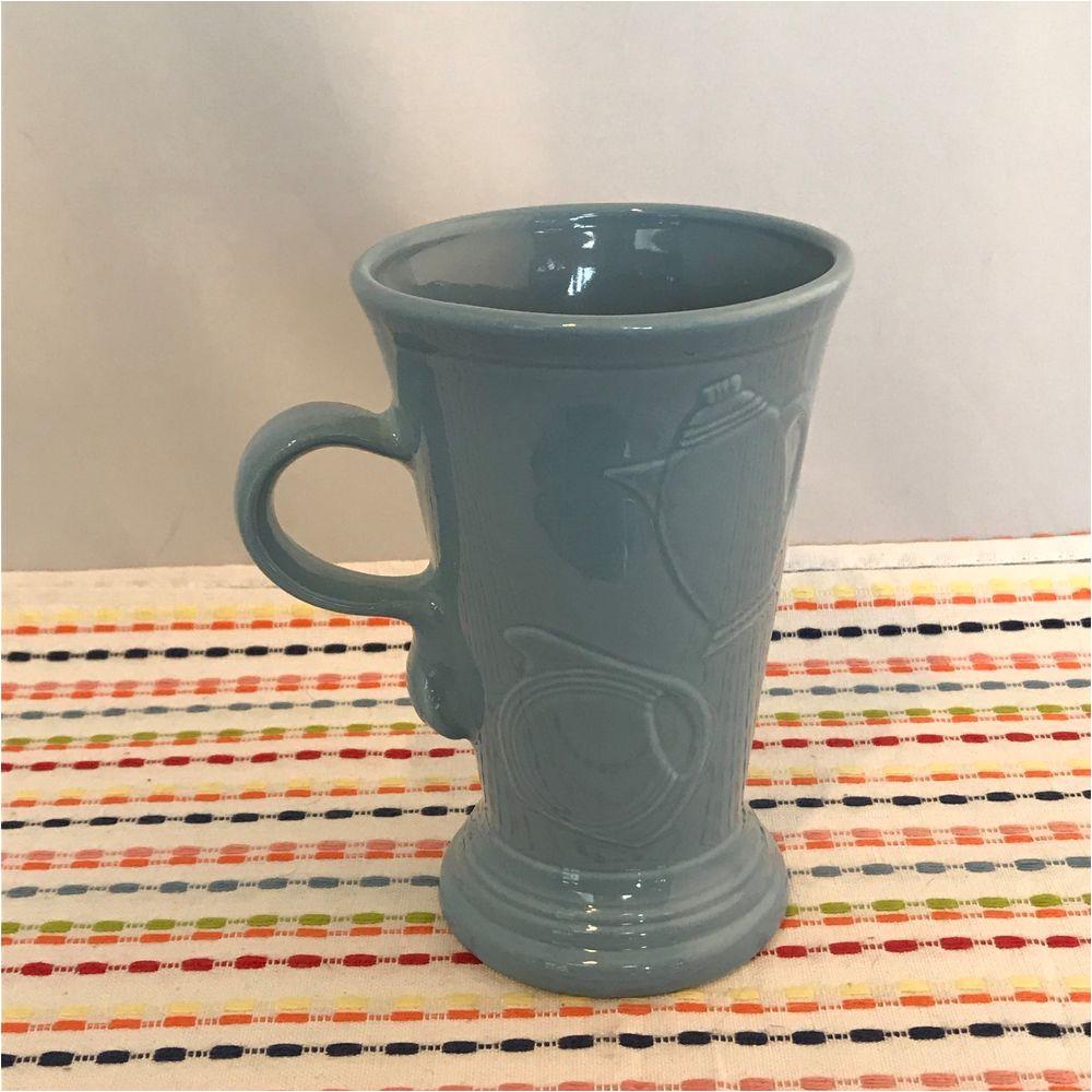 Is Fiestaware Microwave Safe Fiestaware Periwinkle Pedestal Mug Fiesta Retired Blue 18 Oz Footed