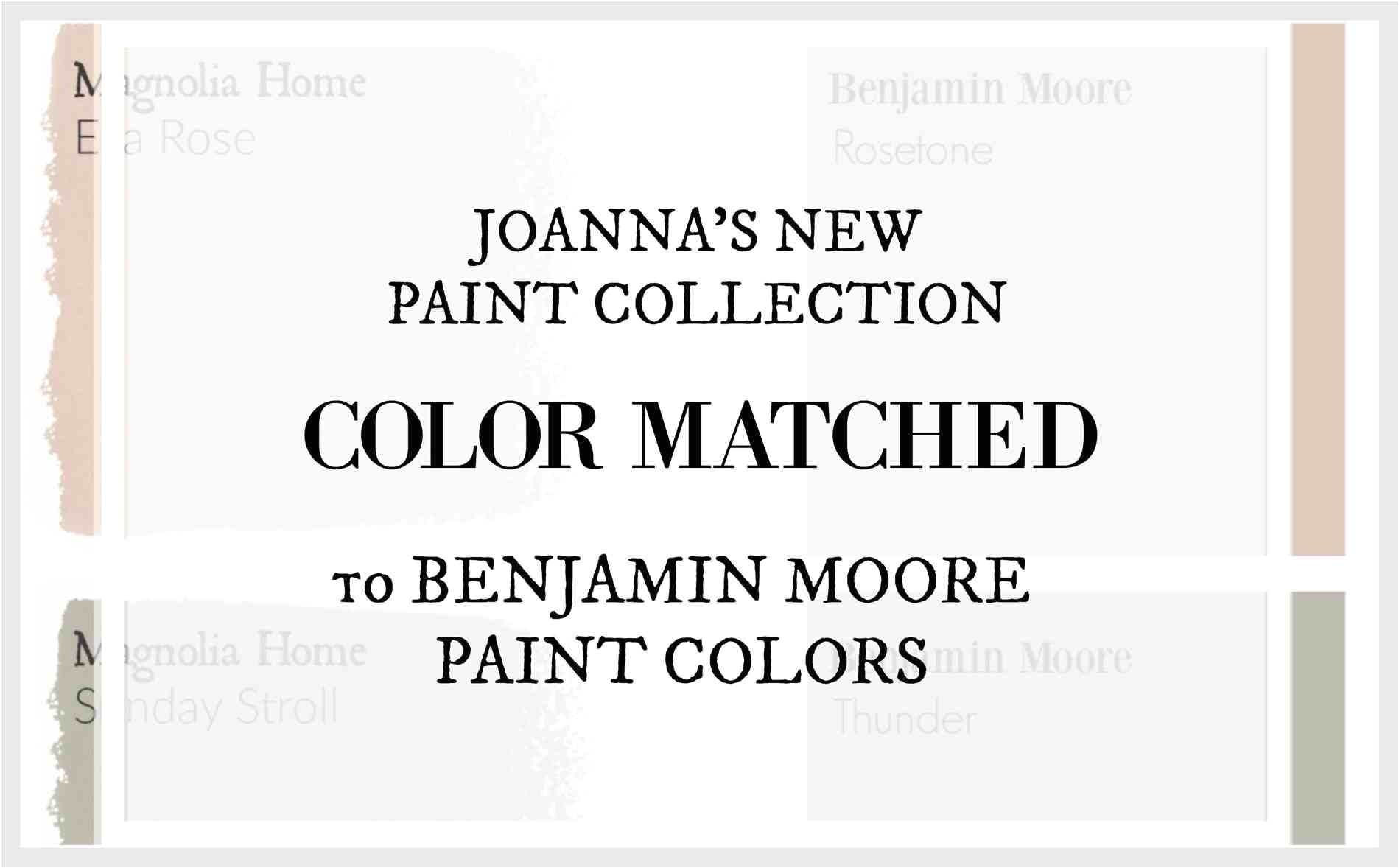 Joanna Gaines Paint Colors Matched to Benjamin Moore 10 Inspiring Joanna Gaines Paint Colors Matched to Benjamin Moore