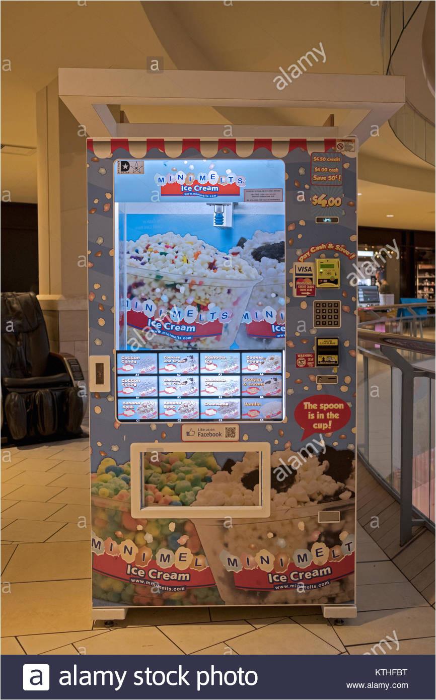 Mini Melts Vending Machine Near Me Mini Ice Cream Stock Photos Mini Ice Cream Stock Images Alamy