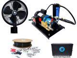 1000 Psi Misting Pump Amazon Com Misting System Open Frame Fan Based High Pressure System