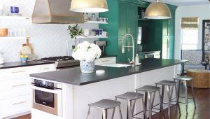10×10 Kitchen Designs with island 10 Unique Small Kitchen Design Ideas