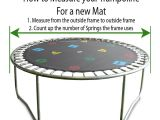 12ft Trampoline Mat and Springs 12ft Printed Trampoline Mat 72 Springs Oz Trampolines