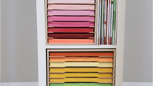 12×12 Paper Storage Ikea Craft Paper Holder for Ikea Stamp N Storage