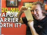 20 Mil Crawl Space Vapor Barrier why We Don T Use 20 Mil Vapor Barrier Crawl Space Plastic Best