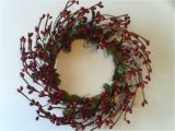 4 Pip Berry Candle Rings One 4 Quot Pip Berry Candle Ring or Wreath Vintage Red