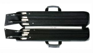4×8 Pool Cue Case Predator Blak soft Pool Cue Case 4×8 Fci Billiards