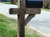 6 X 6 Mailbox Post Plans Yankee Style Heavy Duty Mailbox Post In Newburyport Ma