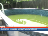 Above Ground Pools Mobile Al Abandoned Pool Causing Problems for West Mobile