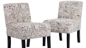 Accent Chairs Under 100 Walmart Accent Chair sofa Club Side Upholstered Letter Print Fabric Armless