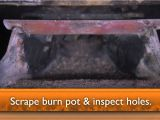 Accentra 52i Pellet Insert Cleaning Harmana Accentra Pellet Stove Maintenance Video Youtube