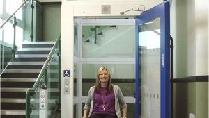 Access Elevator and Lift Concerto Gs Vertical Platform Lift Gt External Internal