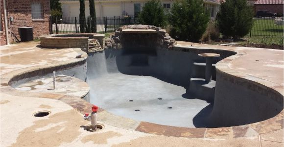 Acid Wash Pool Pebble Tec April 23rd Day 99 Pebble Tec Spray is Complete Just Needs to