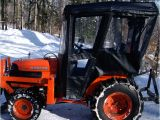 Aftermarket Cabs for Kubota Tractors Tractor Cab Enclosure for Kubota B Series