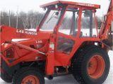 Aftermarket Cabs for Kubota Tractors Tractor Cab Enclosure for Kubota L45 Tlb Black