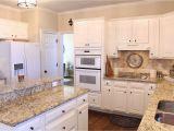 Alaska White Granite with Brown Cabinets Tiffanyd some Progress In the Kitchen White Kitchens