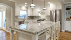 Alaska White Granite with Off White Cabinets Make Your Elegant Kitchen with Alaska White Granite