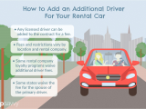 American Lease Car Rental Long island City Adding Another Driver to Your U S Car Rental Contract