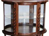 Amish Oak Furniture Sugarcreek Ohio Curio Cabinet Short Oak Ohio Amish Oak Furniture 444