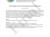 Angies List Des Moines Pdf the Summit for Visioning Iowa S Future Agriculture the Workshop
